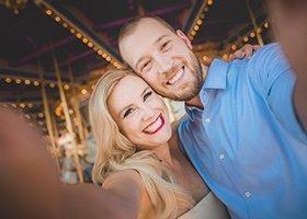 Engagement Selfie photo