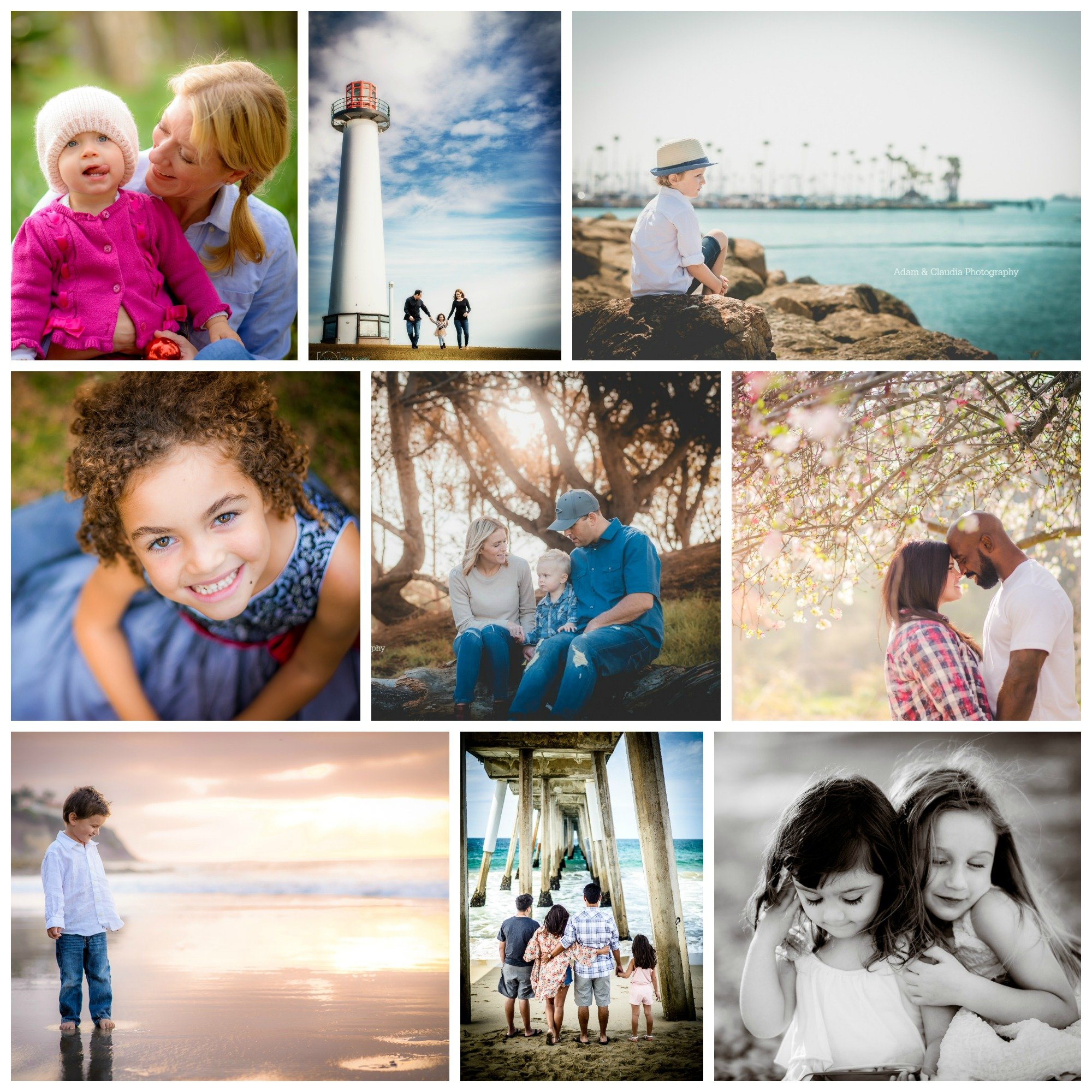 Photos of Private Portrait Sessions