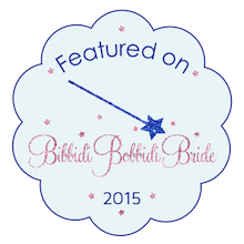 bubble featured on Bridal site