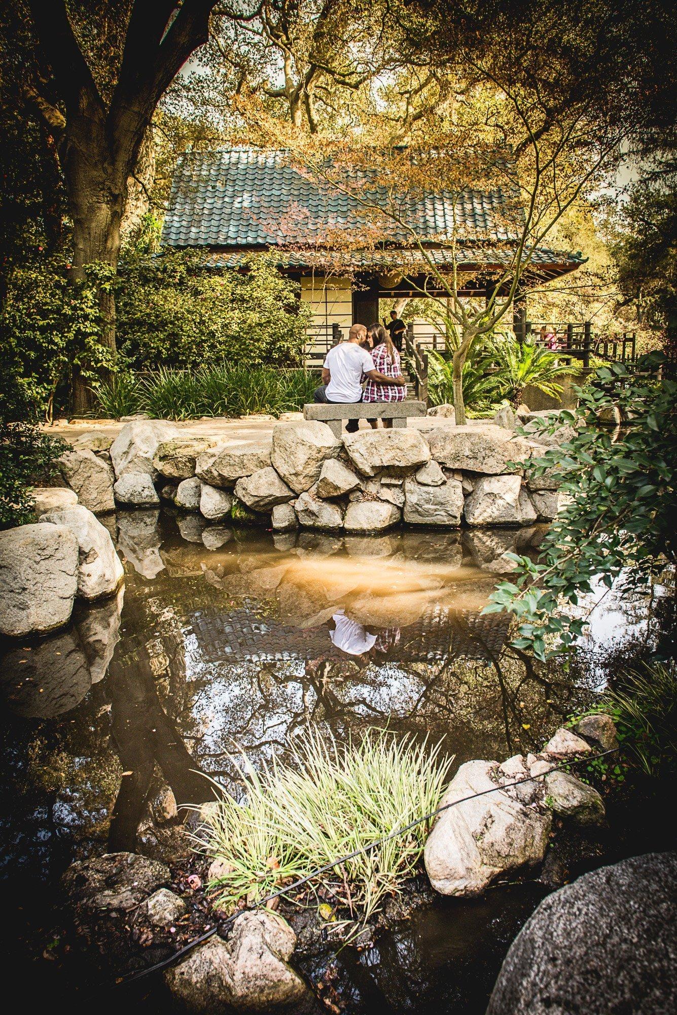 Jennifer & Brandon Descanso Gardens Engagement Session -