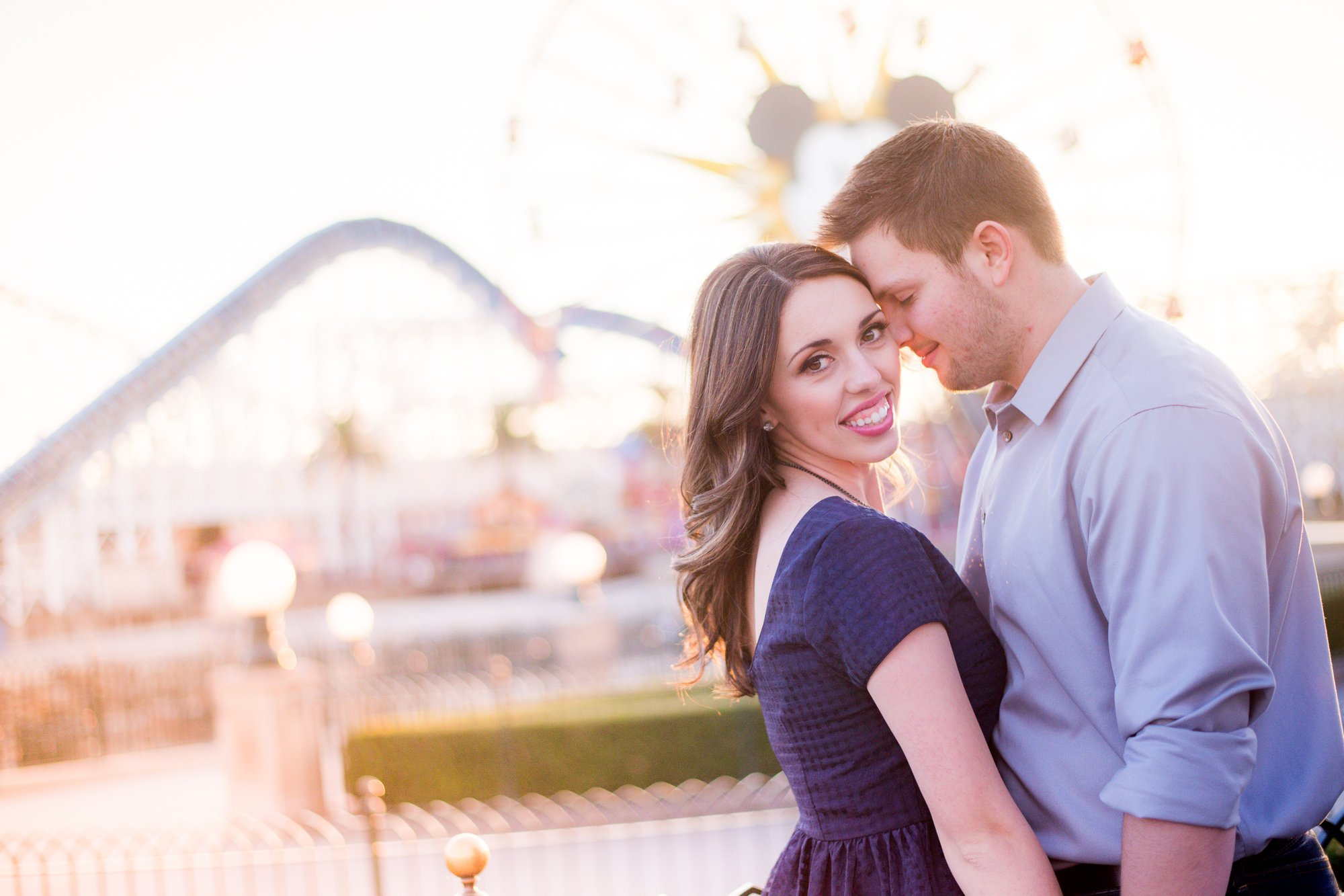 Mehlberg couple in California Adventure