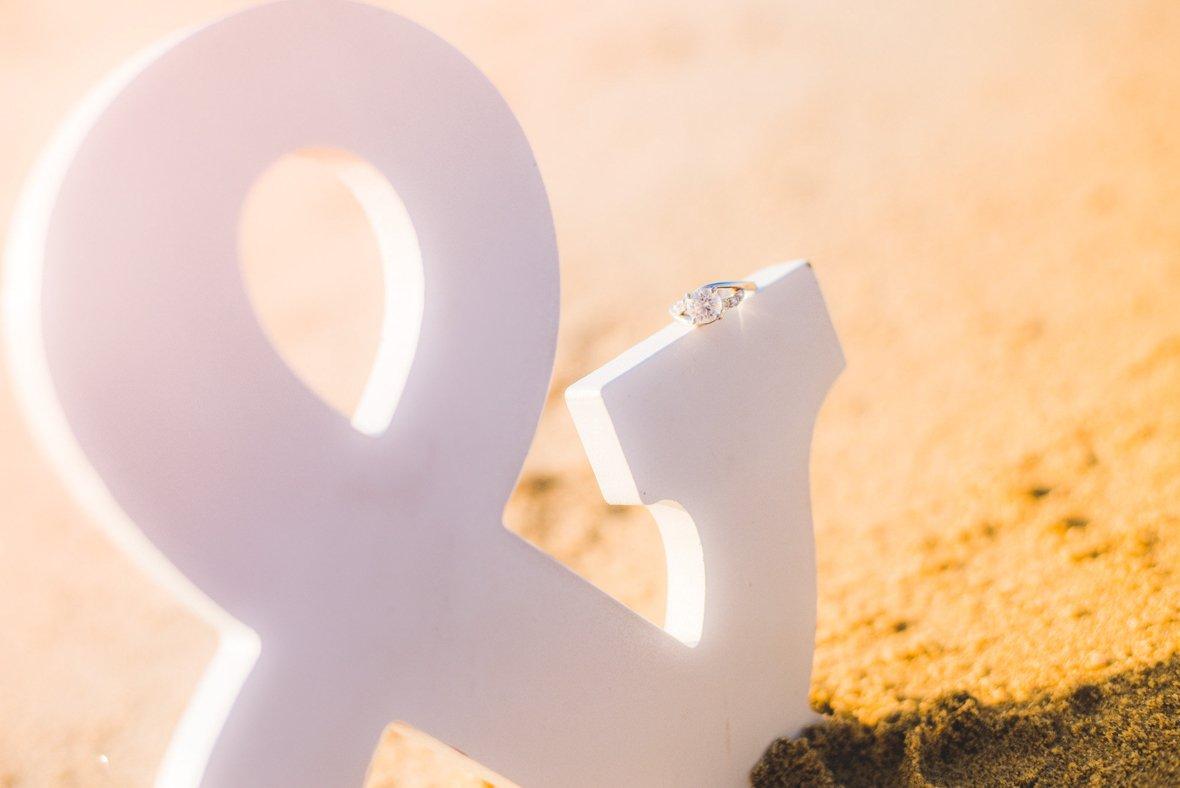 white ampersand sign