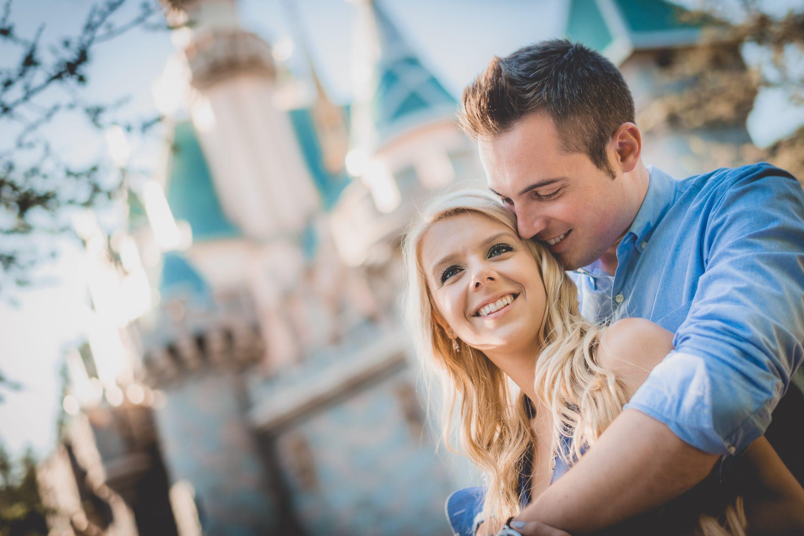 Anthony and Amanda at Disneyland