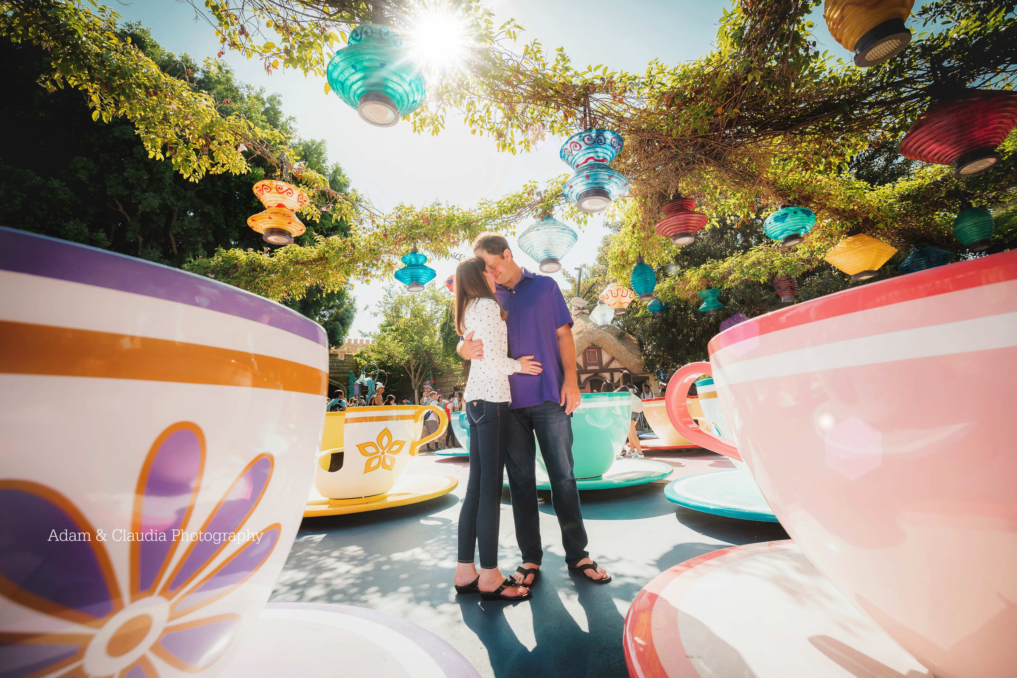 Disney photoshoot in Disneyland