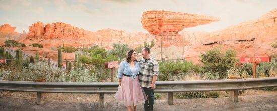 Disneyland Engagement photo - Orr Engagement