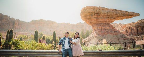 Disney Engagement Session Photo