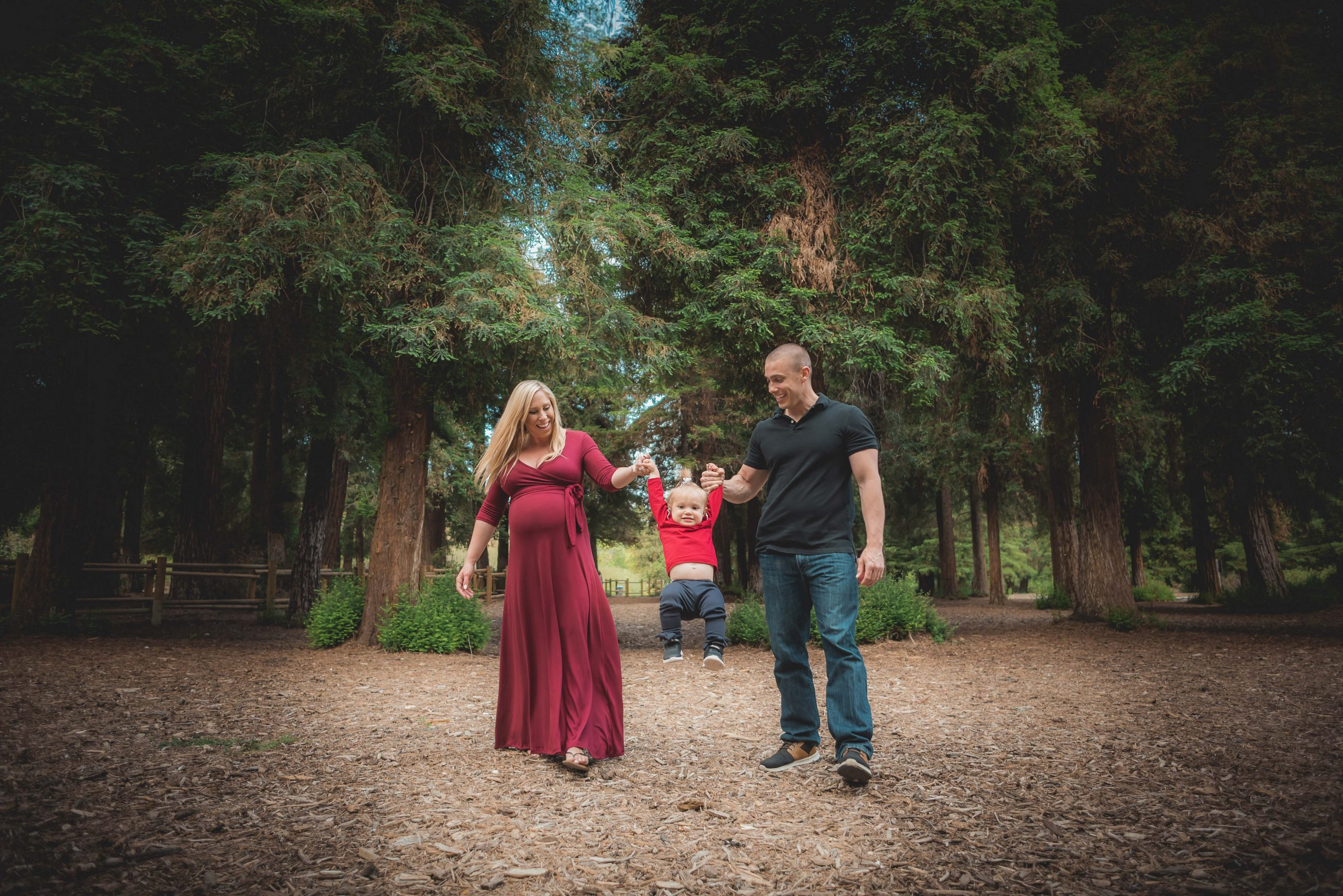 Maternity Portrait in the forest