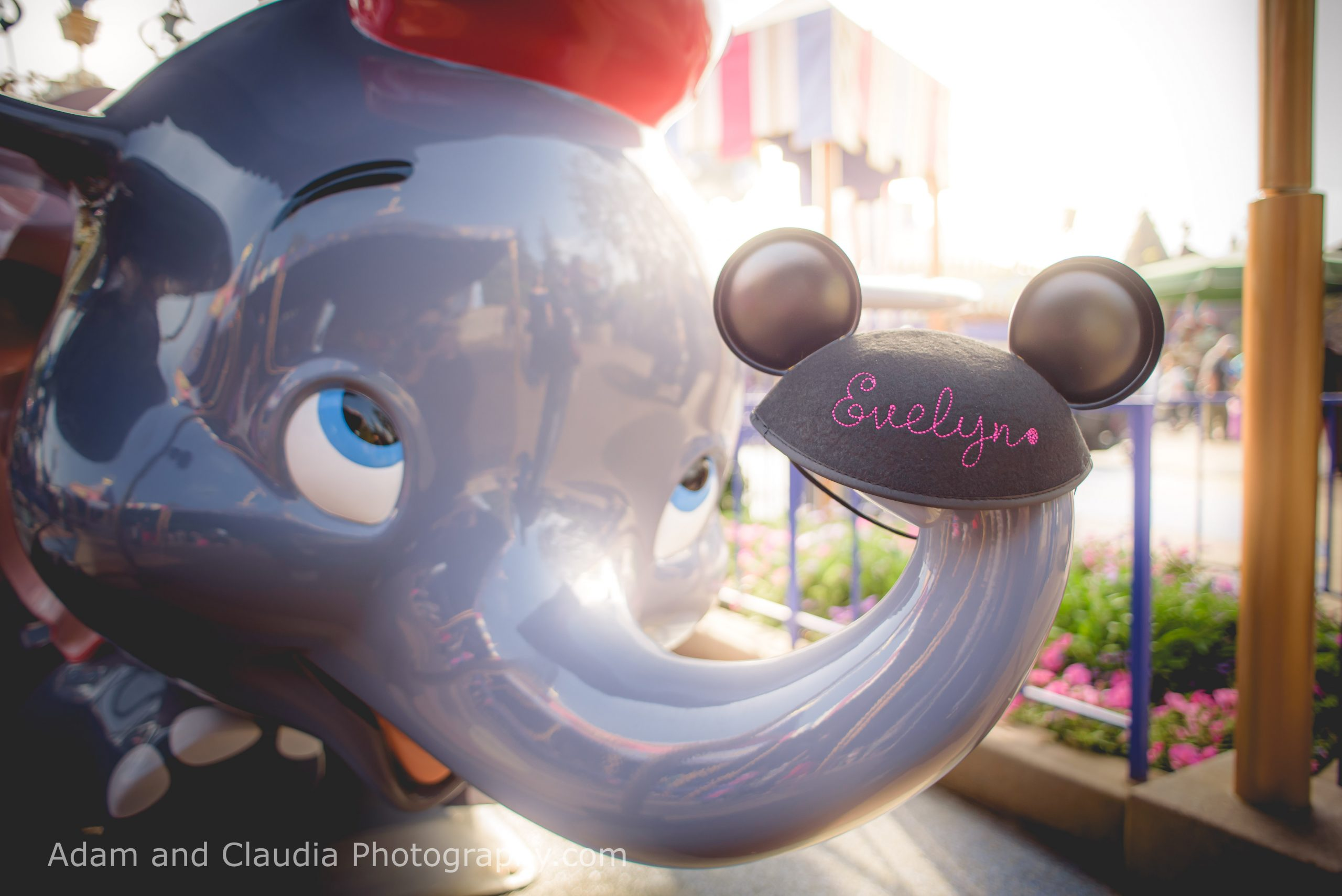Yada - Disneyland Maternity Photos in Disneyland